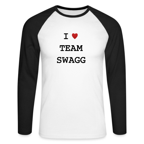 I LOVE TEAMSWAGG - T-shirt baseball manches longues Homme