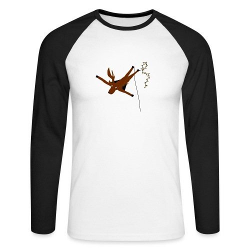 Cerf-Volant - T-shirt baseball manches longues Homme