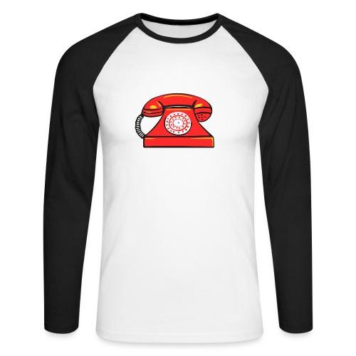 PhoneRED - Men's Long Sleeve Baseball T-Shirt