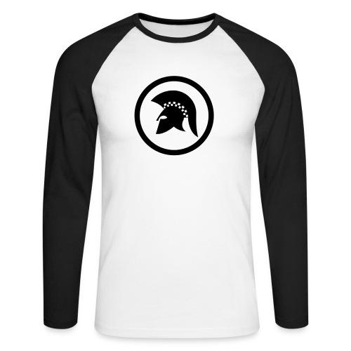 trojan Ska-reggae Zeichen - Männer Baseballshirt langarm