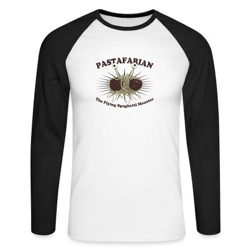 The Flying Spaghetti Monster - Men's Long Sleeve Baseball T-Shirt