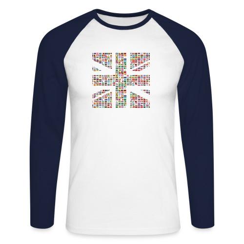 The Union Hack - Men's Long Sleeve Baseball T-Shirt