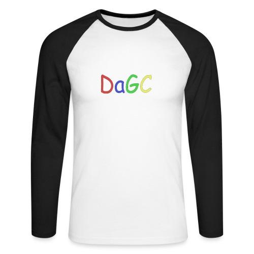 DaGC Comic Sans - Långärmad basebolltröja herr