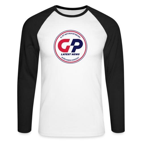 retro - Men's Long Sleeve Baseball T-Shirt