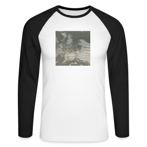 tie dye - Men's Long Sleeve Baseball T-Shirt
