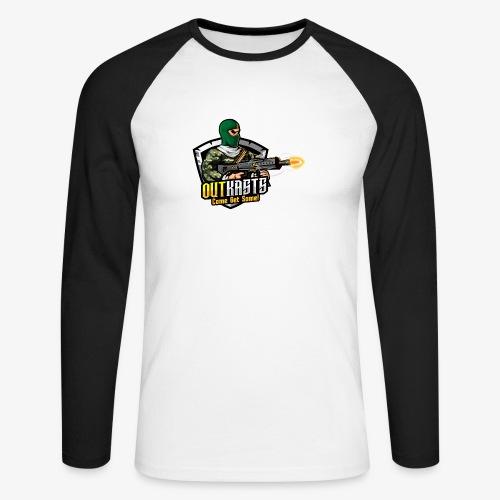 OutKasts [OKT] Logo 1 - Men's Long Sleeve Baseball T-Shirt