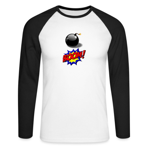 bombe - T-shirt baseball manches longues Homme