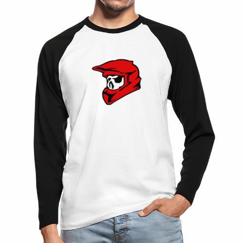 Schaedel Motocross - Männer Baseballshirt langarm