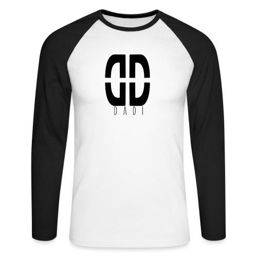 dadi logo png - Männer Baseballshirt langarm