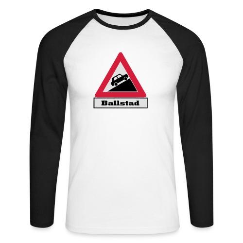 brattv ballstad a png - Langermet baseball-skjorte for menn