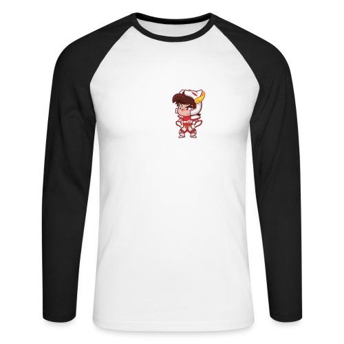 Seiya vous dit Plaît-il ? (texte blanc) Tee - T-shirt baseball manches longues Homme