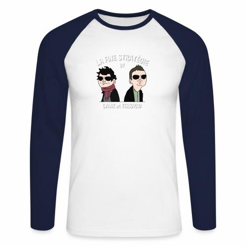 lafinestratégie - T-shirt baseball manches longues Homme