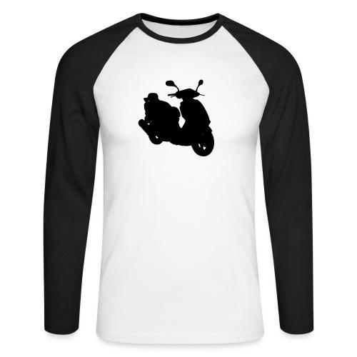 Daelim Otello Silhouette von vorne rechts - Männer Baseballshirt langarm