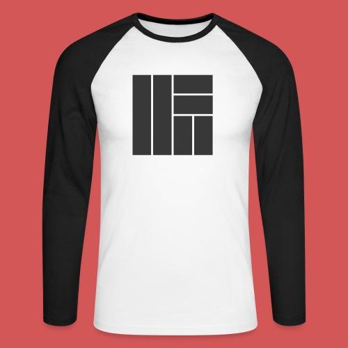 NÖRCup Black Iconic Edition - Men's Long Sleeve Baseball T-Shirt