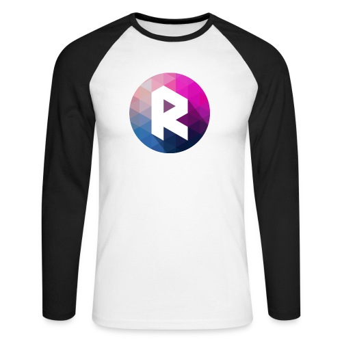 radiant logo - Men's Long Sleeve Baseball T-Shirt