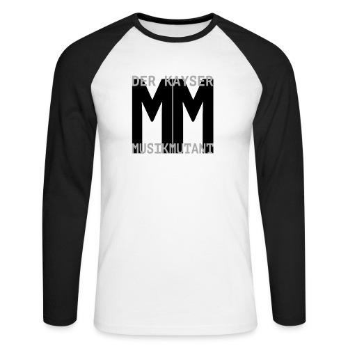 Der Kayser - Musikmutant - Bandshirt - Männer Baseballshirt langarm