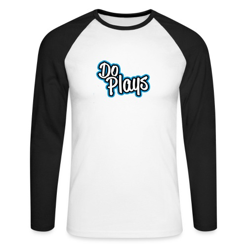 Muismat   Doplays - Mannen baseballshirt lange mouw