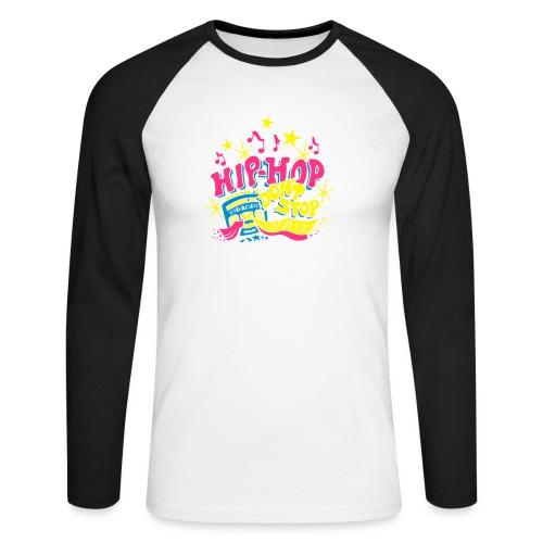 hiphop_style - Männer Baseballshirt langarm