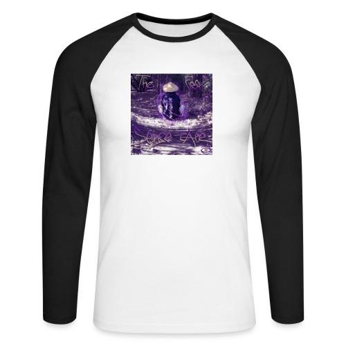 the first sense tape jpg - Men's Long Sleeve Baseball T-Shirt