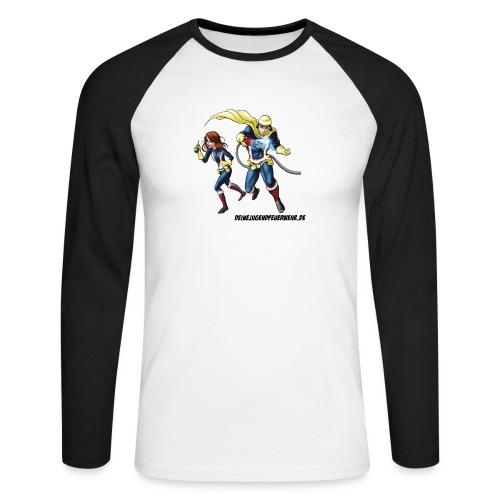 1+1=2Eine gute Connection - Männer Baseballshirt langarm