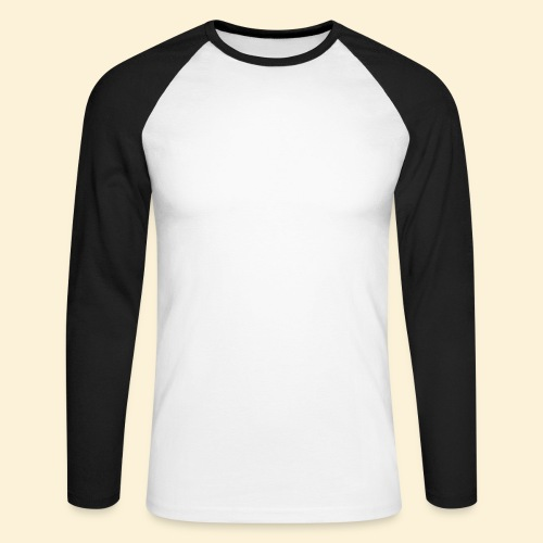 Lebensblume - Männer Baseballshirt langarm