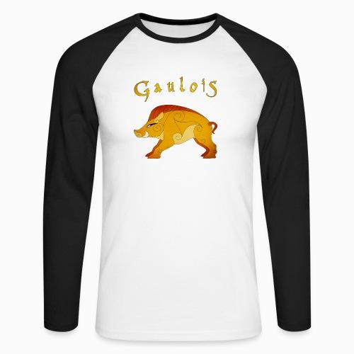 Sanglier Gaulois - T-shirt baseball manches longues Homme