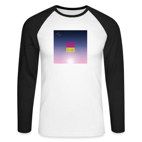 T-shirt herr Skärgårdsskrattet - Långärmad basebolltröja herr
