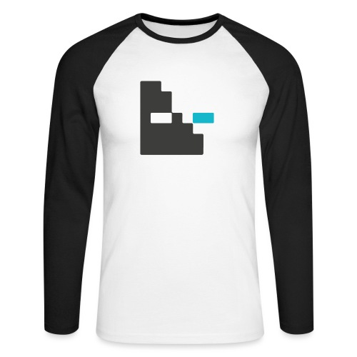 Mortu Logo - Mannen baseballshirt lange mouw