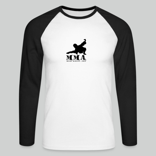 MMA Master - Männer Baseballshirt langarm