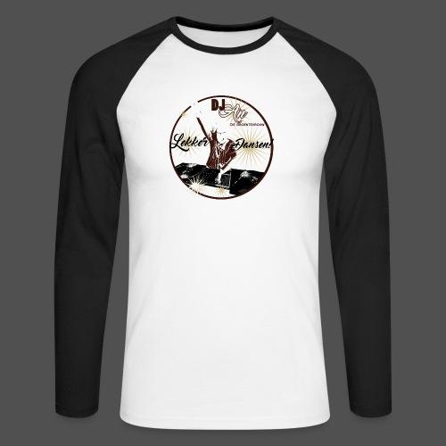 DJ An - Mannen baseballshirt lange mouw