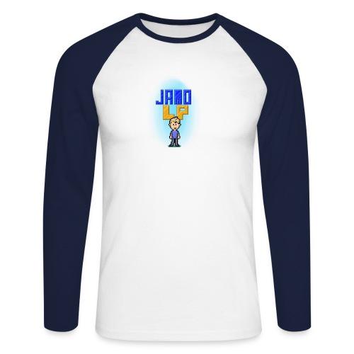 Pixel Jamo - Langærmet herre-baseballshirt