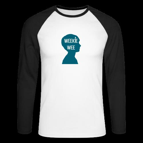 TShirt_Weekiewee - Mannen baseballshirt lange mouw