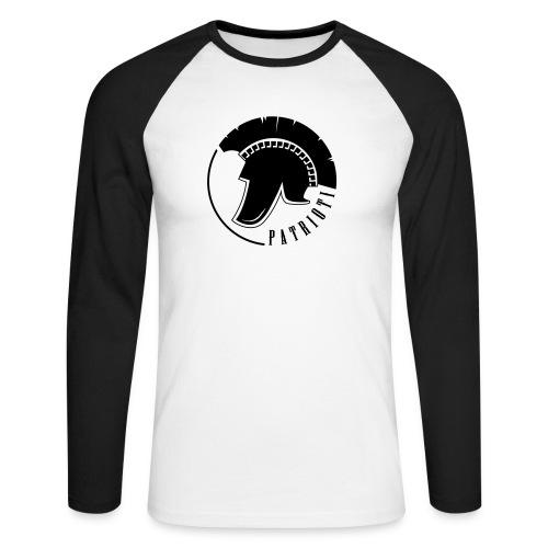 Illyrian warrior patrioti - Männer Baseballshirt langarm