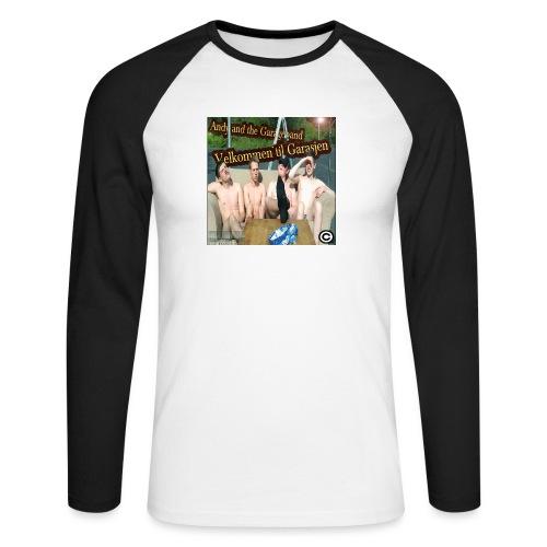 Velkommen Til Garasjen - Langermet baseball-skjorte for menn