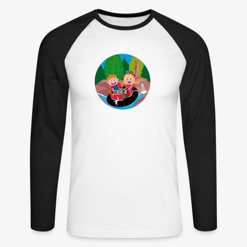 Themepark: Rapids - Mannen baseballshirt lange mouw
