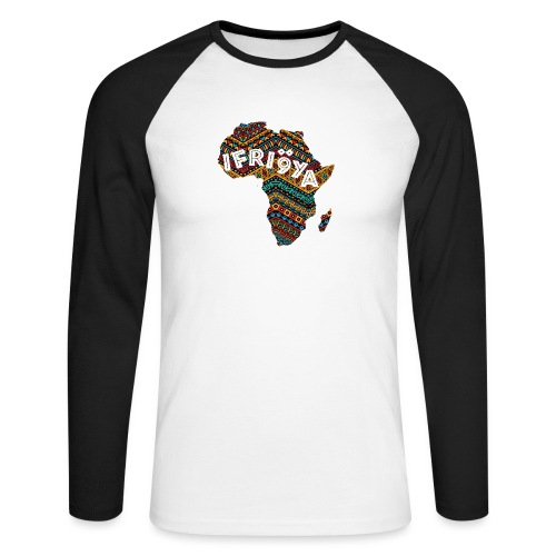 Africa - Ifriqya - T-shirt baseball manches longues Homme