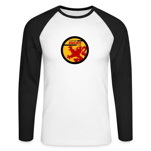GIF logo - Men's Long Sleeve Baseball T-Shirt