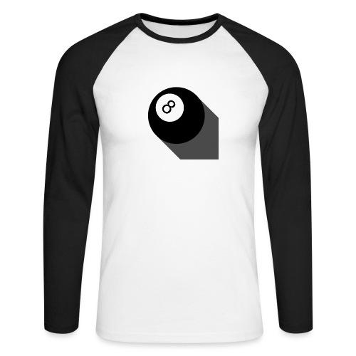 sn8ker - T-shirt baseball manches longues Homme