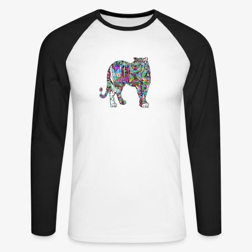 Tigre - T-shirt baseball manches longues Homme