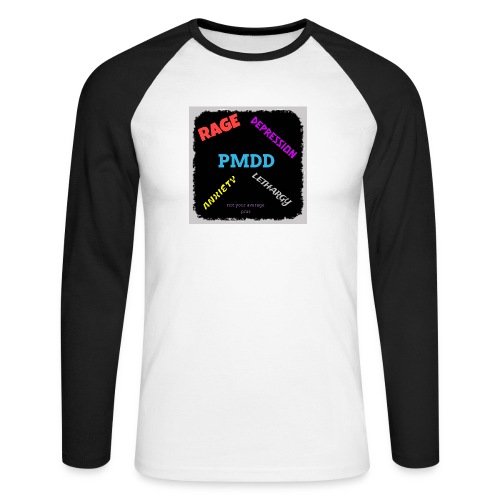 Pmdd symptoms - Men's Long Sleeve Baseball T-Shirt