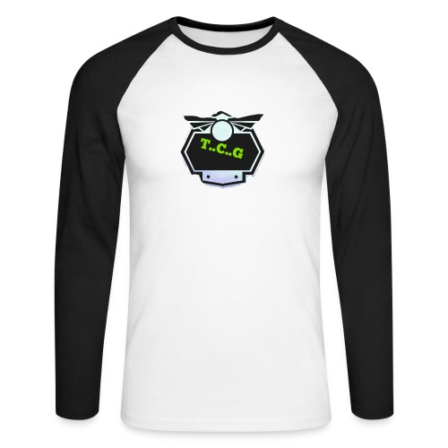 Cool gamer logo - Men's Long Sleeve Baseball T-Shirt