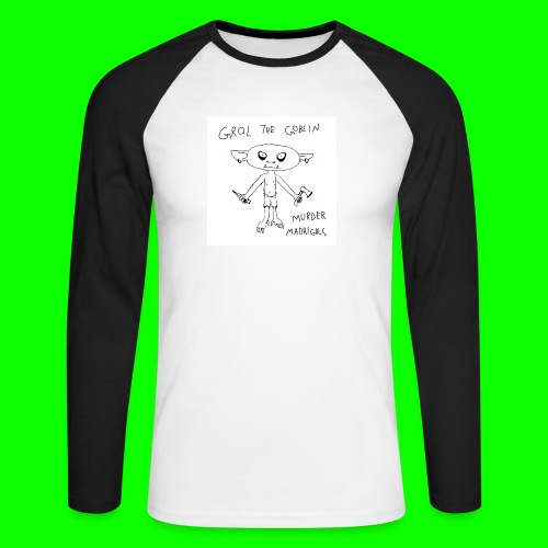 Murder Madrigals - Men's Long Sleeve Baseball T-Shirt