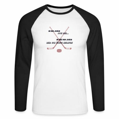 bon joueur - T-shirt baseball manches longues Homme