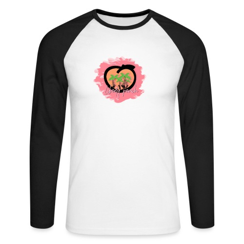 Liberty Peach City - T-shirt baseball manches longues Homme