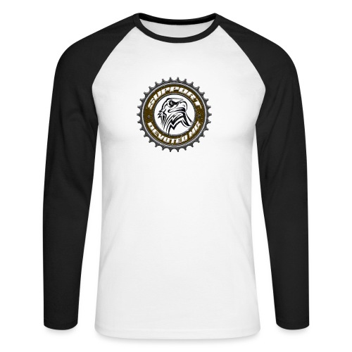 Sprocket Support - Langermet baseball-skjorte for menn