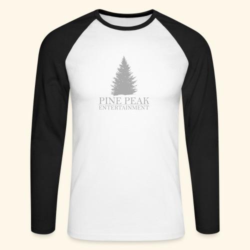 Pine Peak Entertainment Grey - Mannen baseballshirt lange mouw