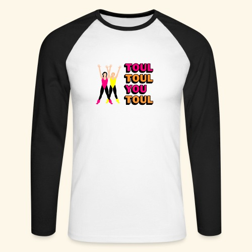 Toul Toul You Toul - T-shirt baseball manches longues Homme