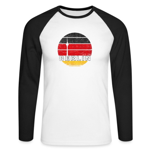 BERLIN, Germany, Deutschland - Men's Long Sleeve Baseball T-Shirt