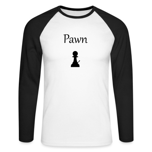 Pawn - Men's Long Sleeve Baseball T-Shirt