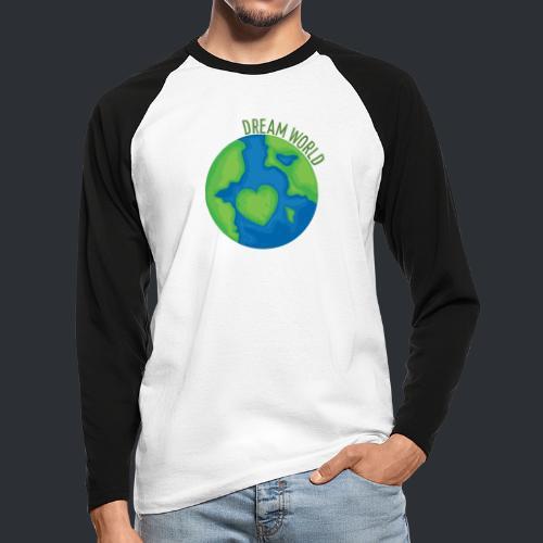 Slippy's Dream World - Men's Long Sleeve Baseball T-Shirt